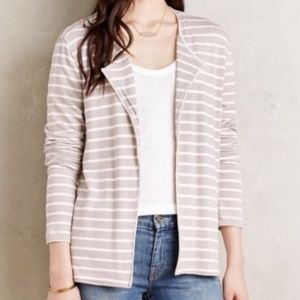 Bordeaux Reading Room Striped Cardigan